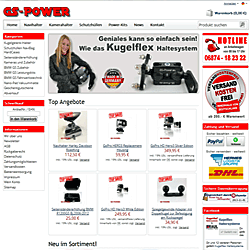 GS-POWER Onlineshop
